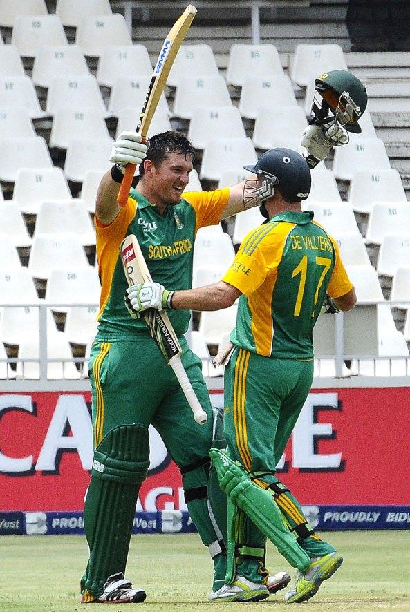 Graham Smith & AB de Villiers
