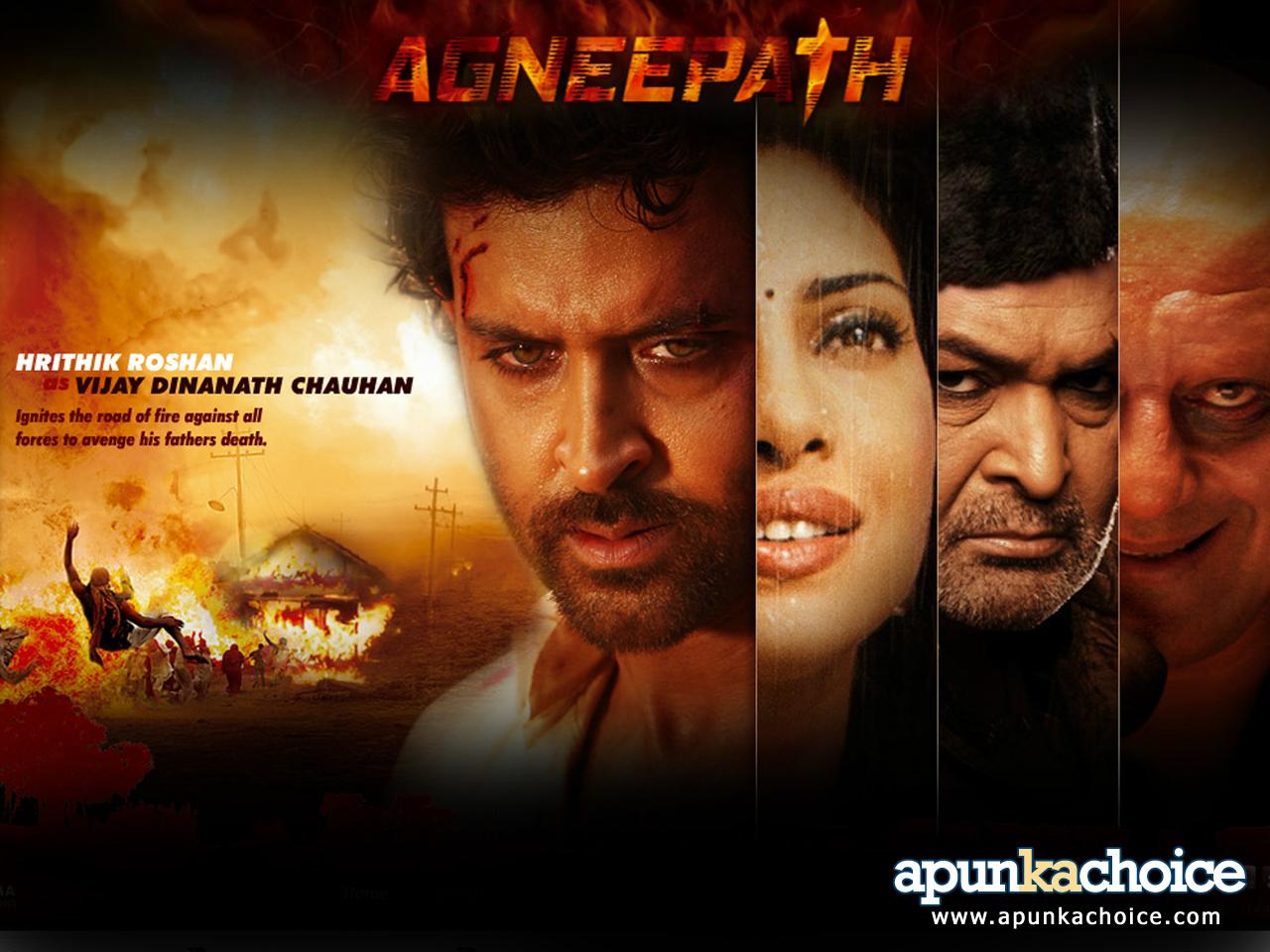 agneepath – hrithik roshan . released worldwide | hollywwod